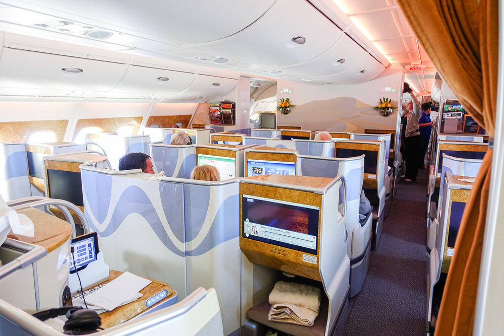 emirates business class a380 iamsuanlee