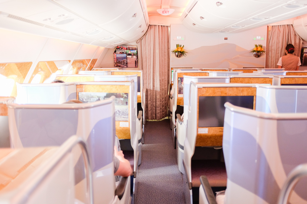 emirates a380 business class aisle seats