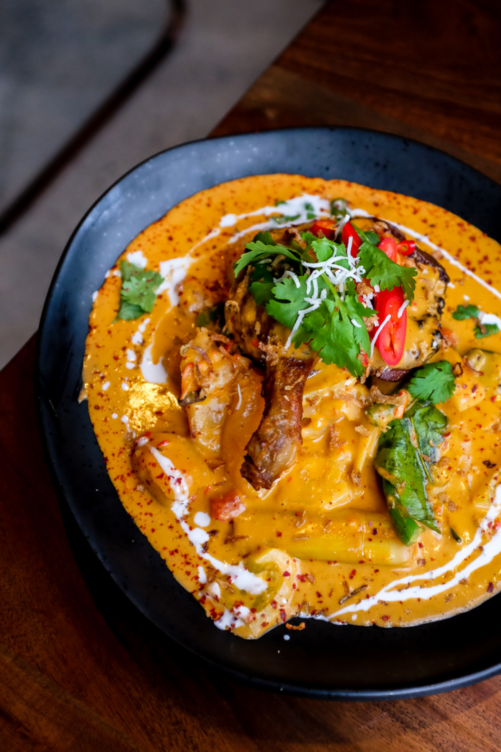Duck Red Curry ($32.00)