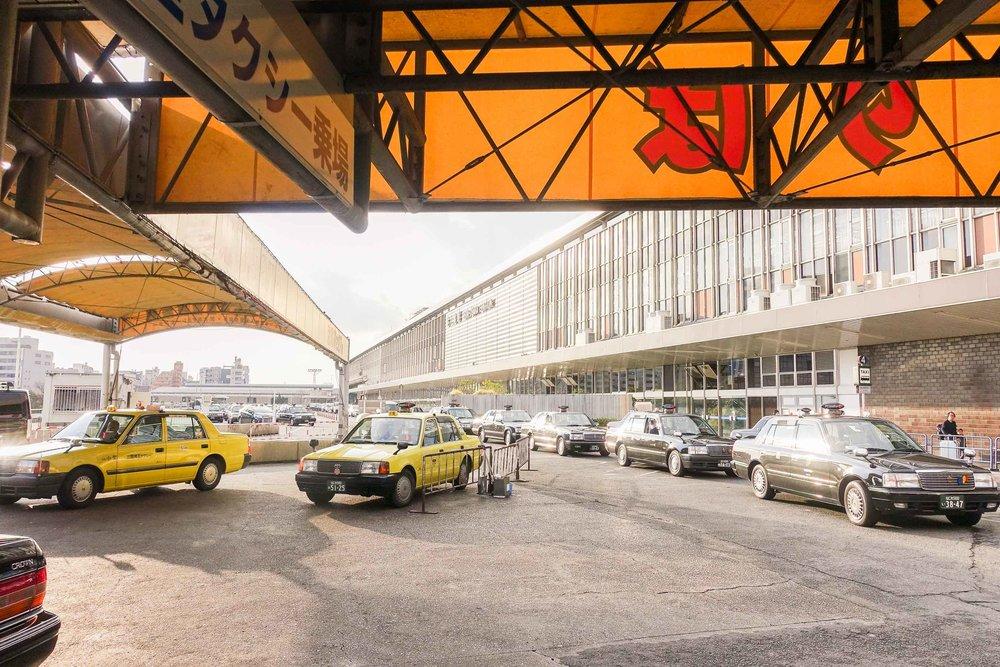 Shin Osaka Station Taxi Rank