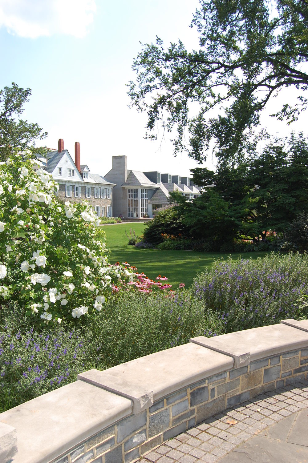 penn state hintz family alumni center design john morgan thomas landscape architects