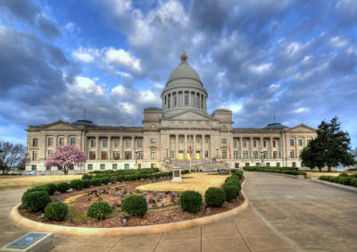 Arkansas State Capitol Building. Source: PHOTO TAKEN BY  LISA HYDE