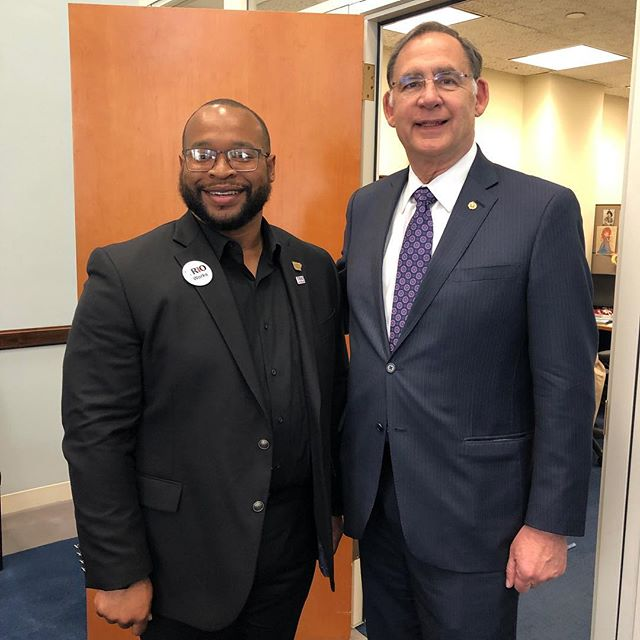 Great first meeting with Senator John Boozman!! Thank you so much for all of your support! #trioworks #coeps19