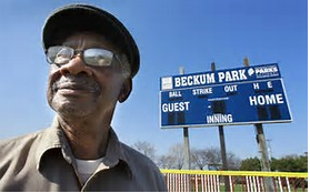 Brother James Beckum, co-founder of Beckum-Stapleton Little League and Greater Galilee Member