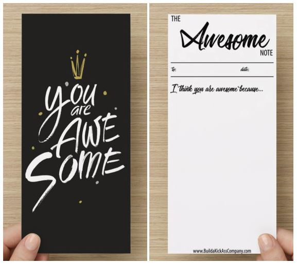 The Awesome Note