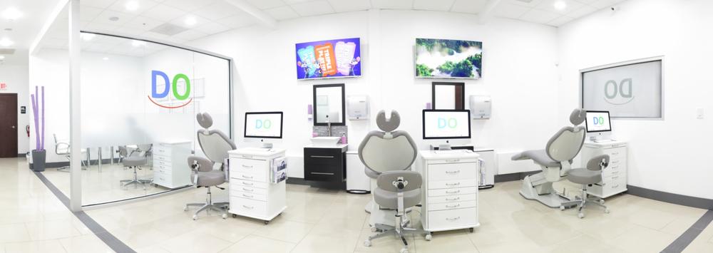 Open Concept Treatment Area