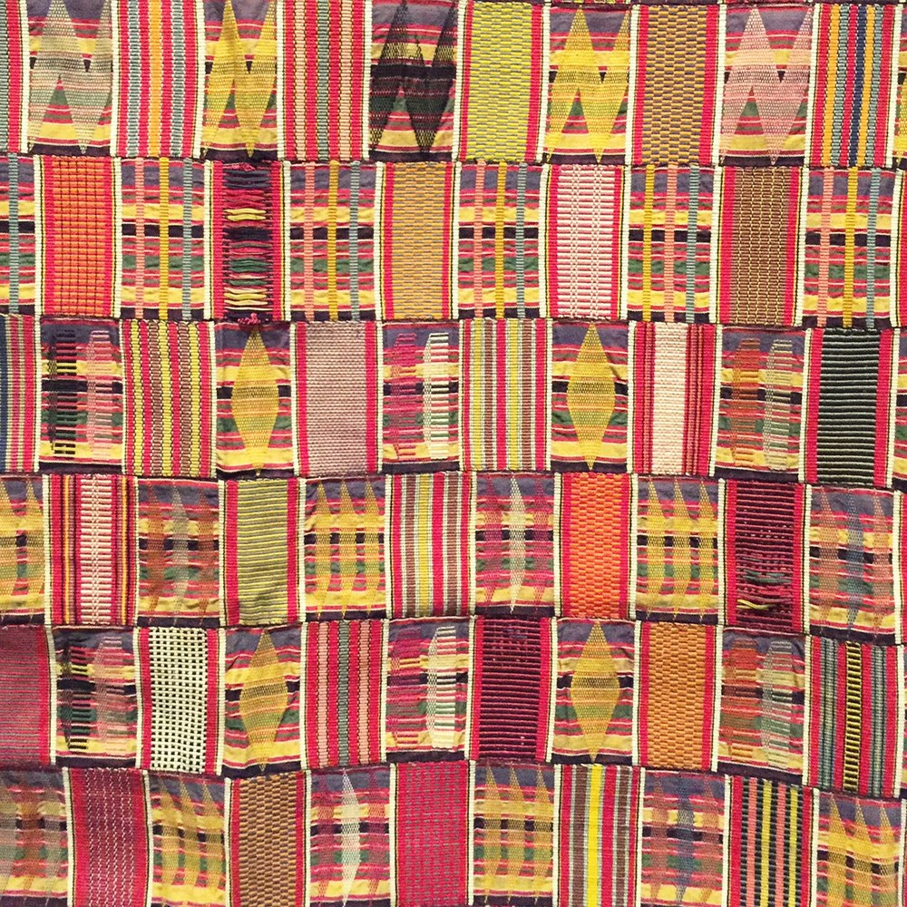 kente cloth at LACMA