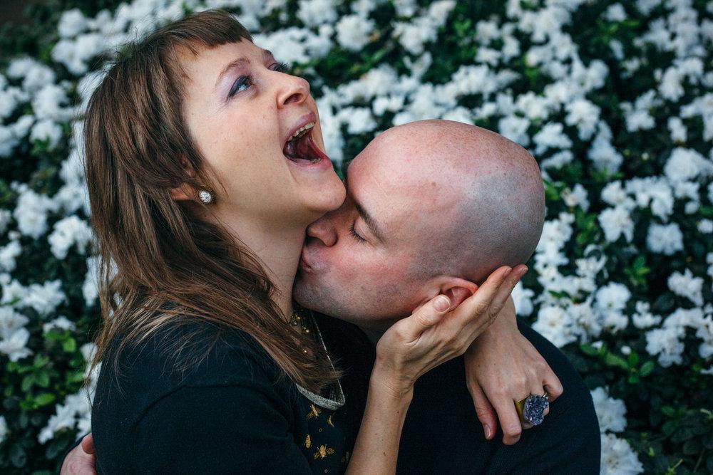Teva & David's dream date in Allan Gardens