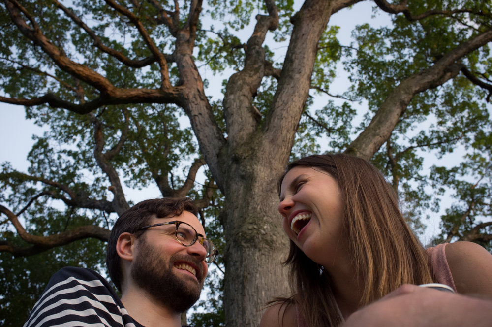Emily & Clay's dream date in High Park