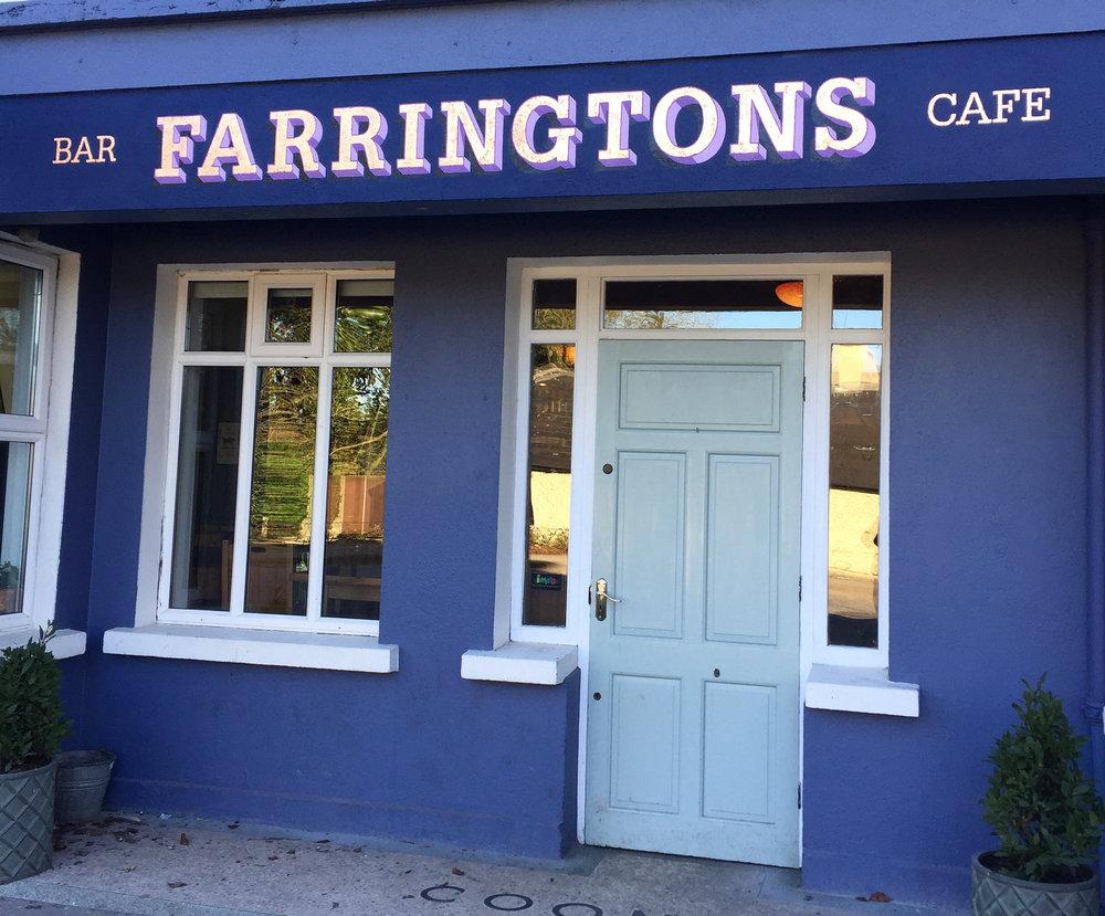 FARRINGTONS, Kildare. Design Leonie Henson. Copper Leaf.