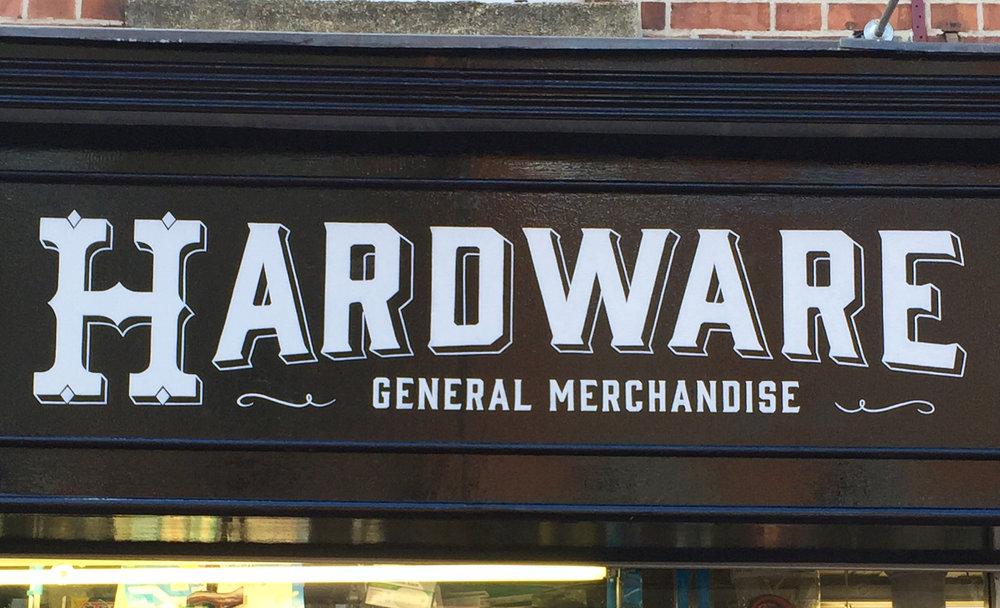 DUNNES HARDWARE, Camden Street, Dublin. Design Signs of Power.