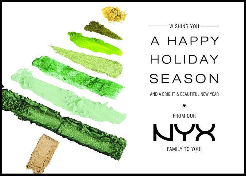 NYX holiday 2013 e-card
