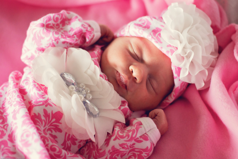 Beautiful little doll baby!