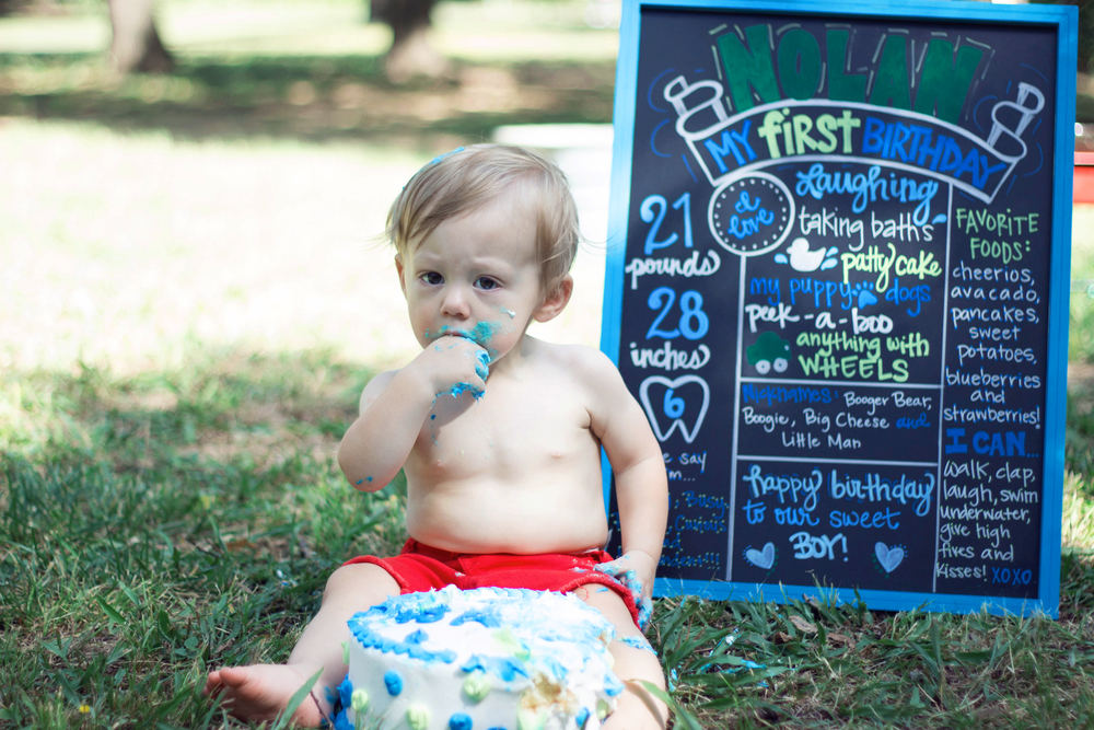 First Birthday Session, River Legacy Park