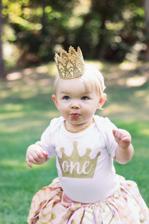 pinkandgoldfirstbirthday