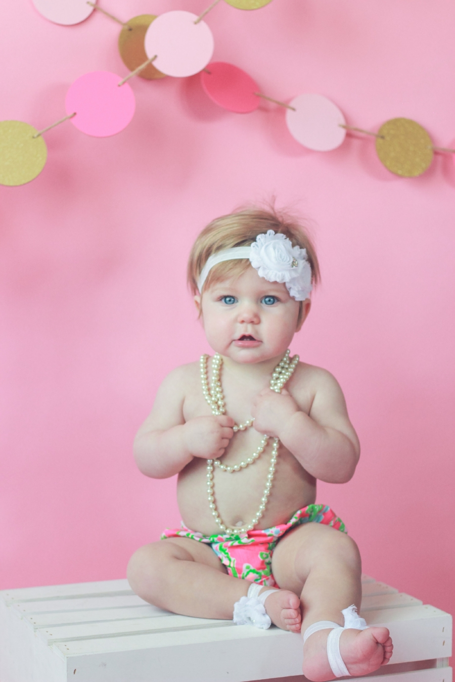 Girls First Birthday Session