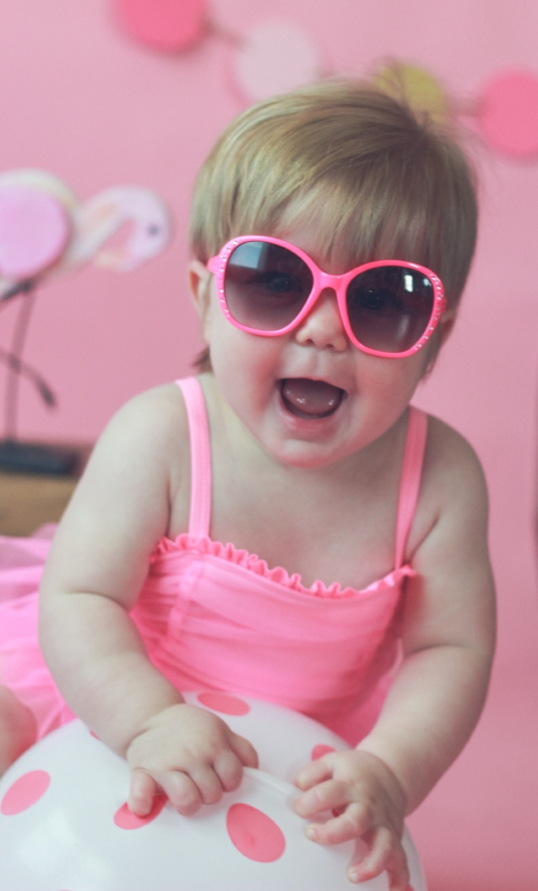 Little Girl Pink Sunglasses