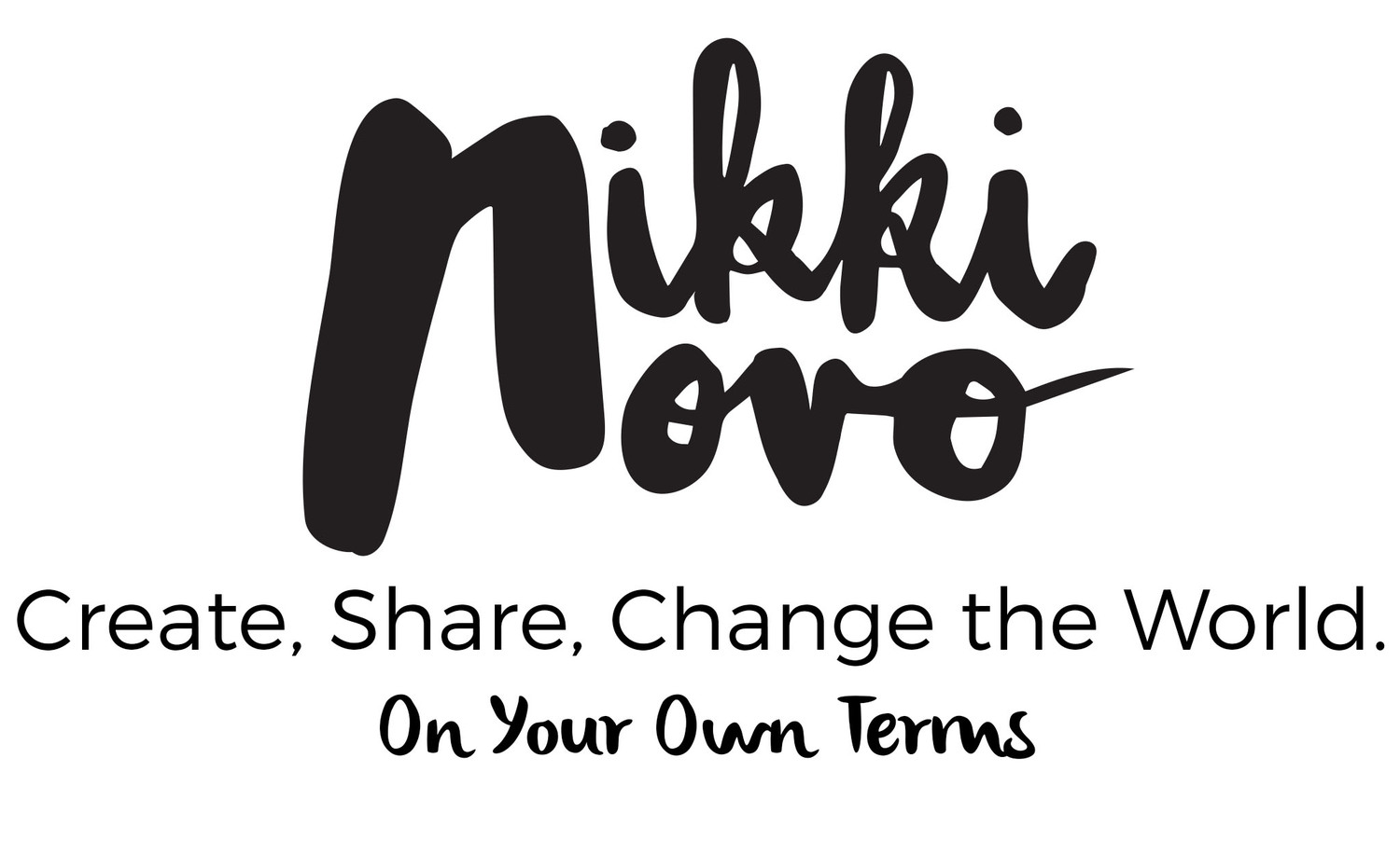 Nikki Novo |Self-Help Author | Millennial Speaker | Creative Career Advice| Blogging Classes | Writing Classes