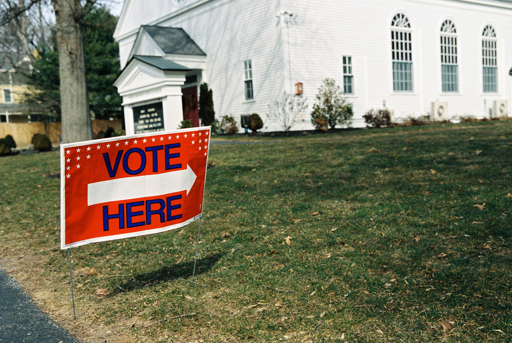 Massachusetts Primary Day (Canon 1v :: Portra 400)   61/366