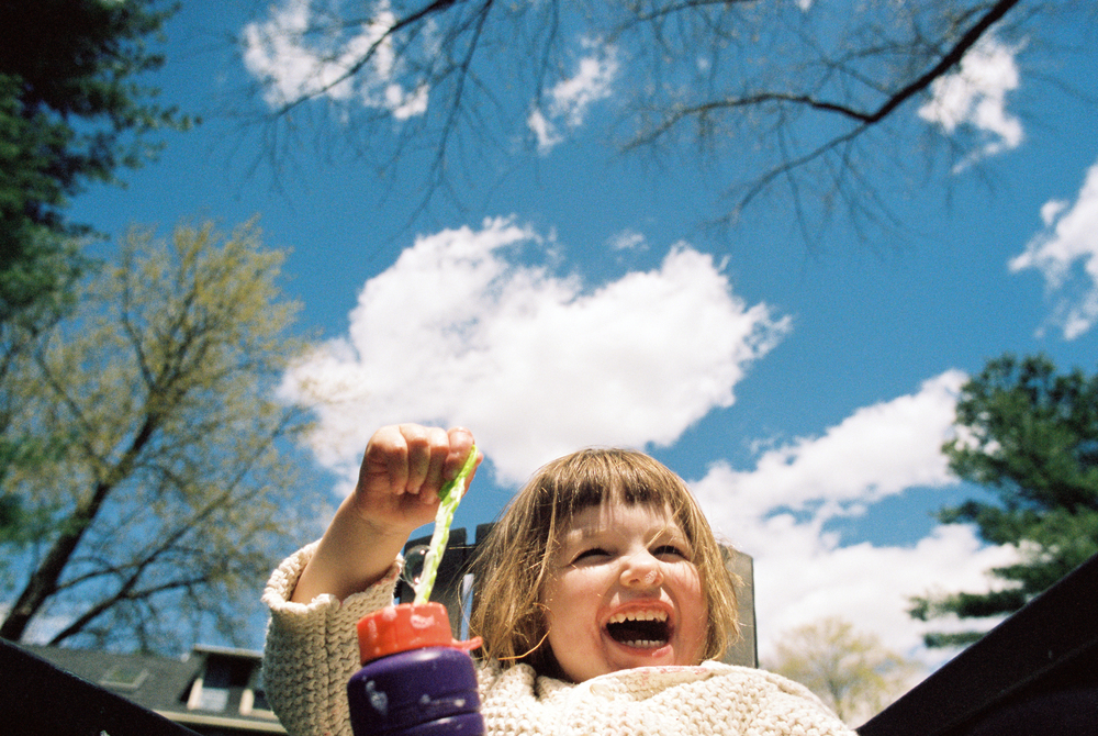 Blue Skies (Nikon FM2 :: Portra 400) 129/366