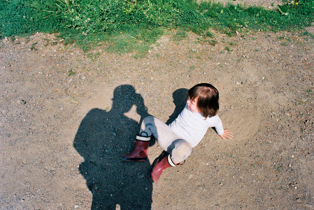 Parking Lot Tantrum (Nikon FM2 :: Ektar)   140/366