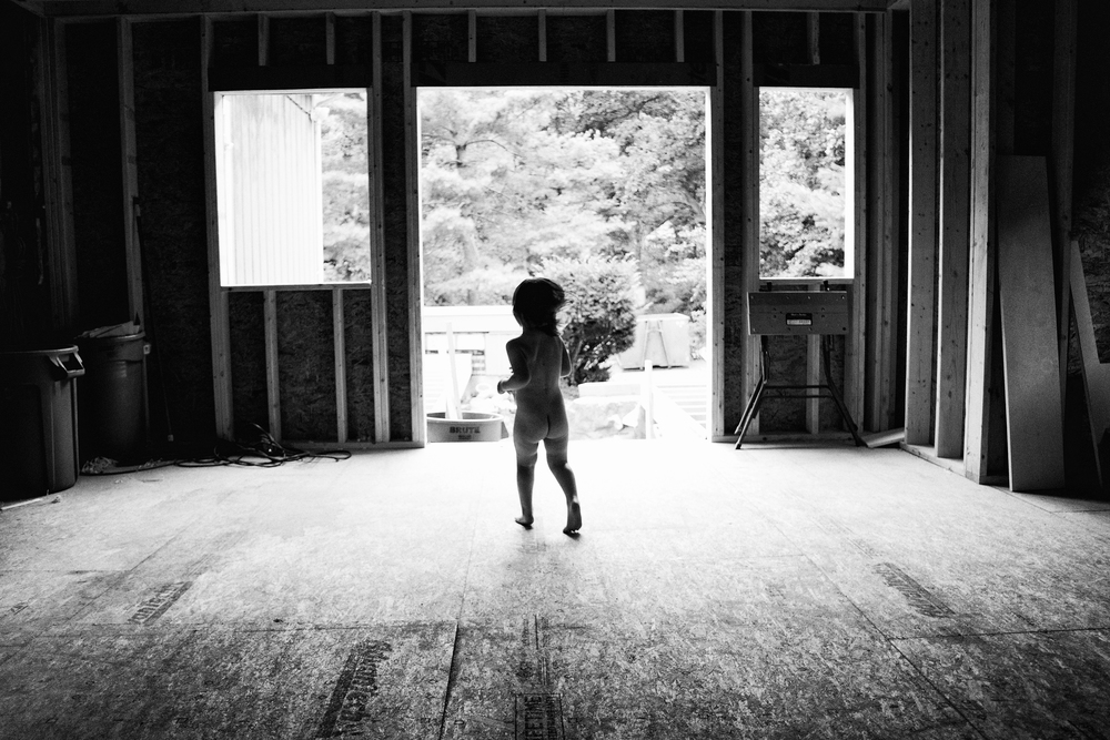Expanding our house has made me want to run around naked and celebrate too. Not gonna lie. Photo by Olivia Gatti Facebook :: Website