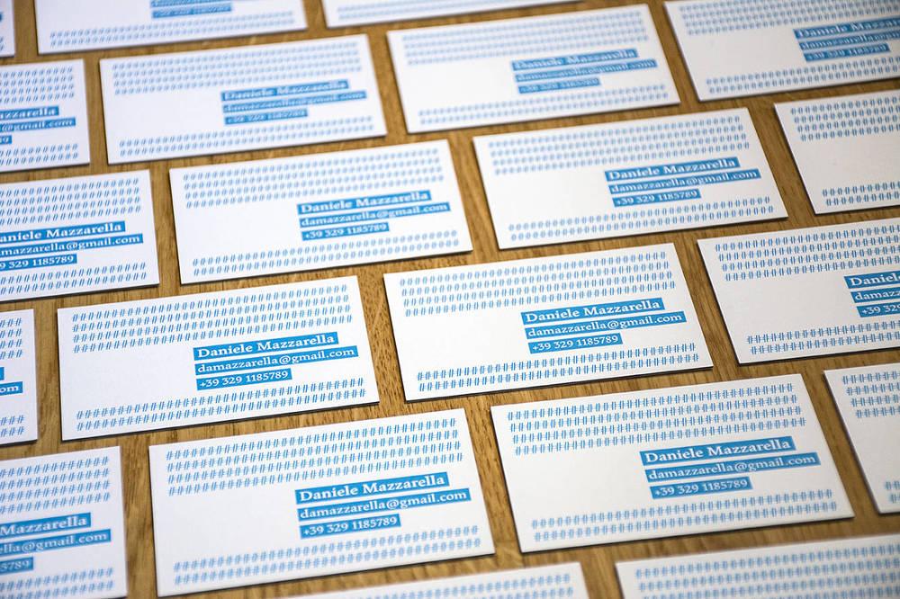 Business Cards — Alessia Mazzarella