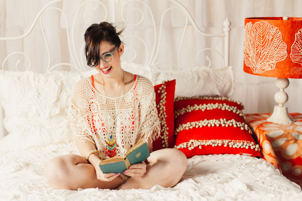 Books, Maps, and Coffee with Jilly Lifestyle Photography by The Finches