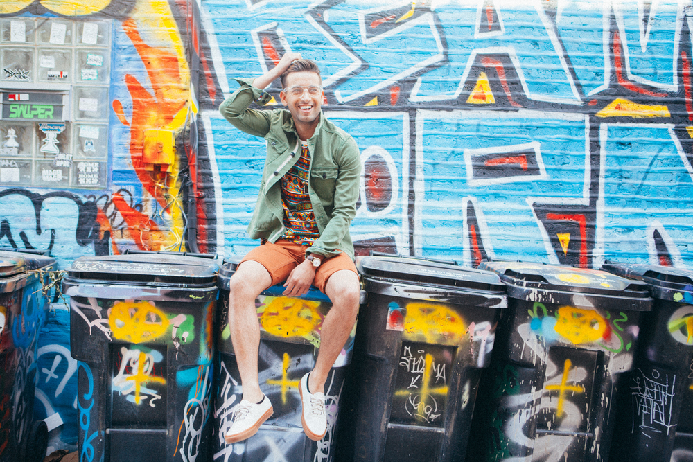 Bobby makes modeling on GARBAGE CANS look easy. Can't say enough great things about this guy.