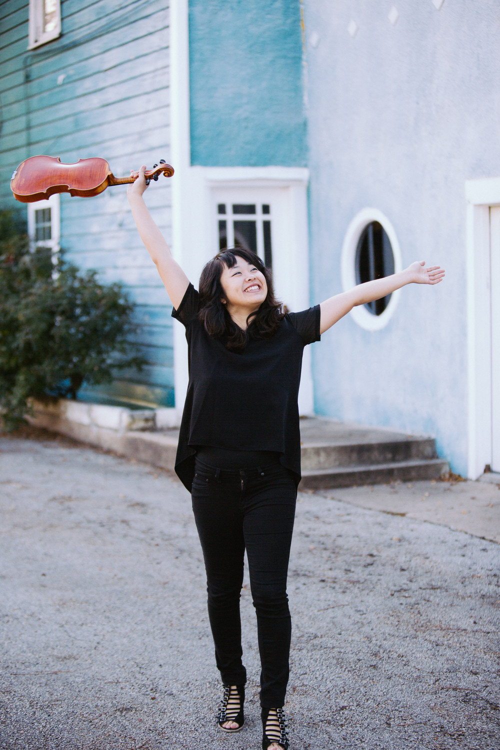 Grace Youn Austin Texas Violinist YouTuber by The Finches