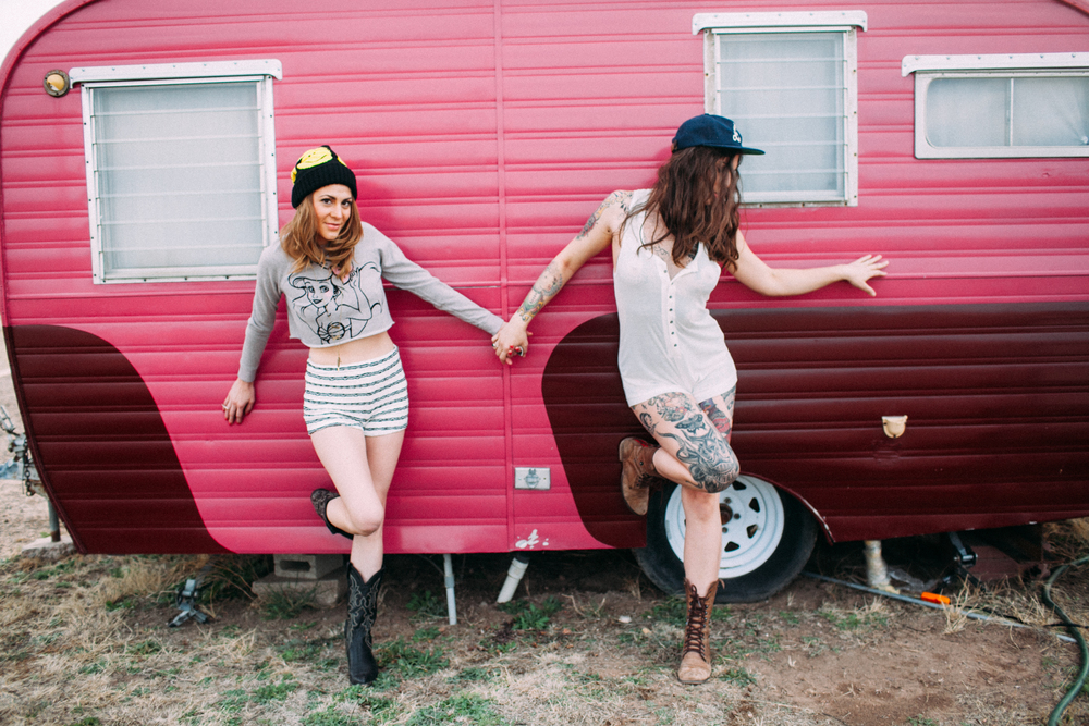 Marfa Texas Lifestlye Little Pinky El Cosmico by The Finches