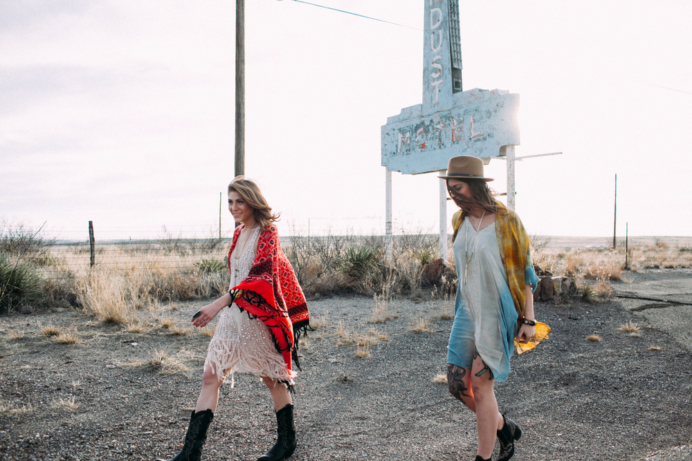 Marfa Downtown Fashion Lifestyle Photoshoot by The Finches