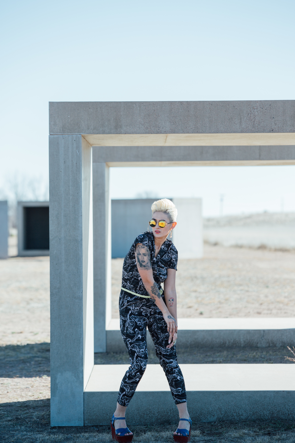 Marfa Lifestyle Fashion Photoshoot with The Finches