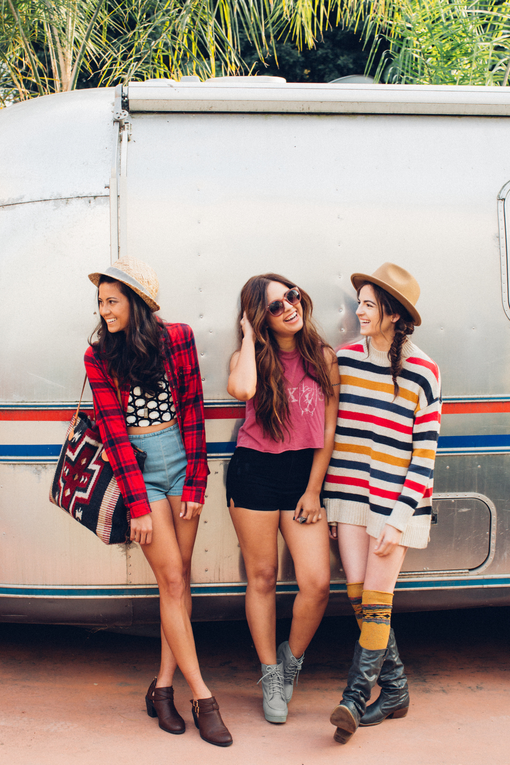 Urban Outfitters Airstream Long Beach Backyard Photoshoot by The Finches