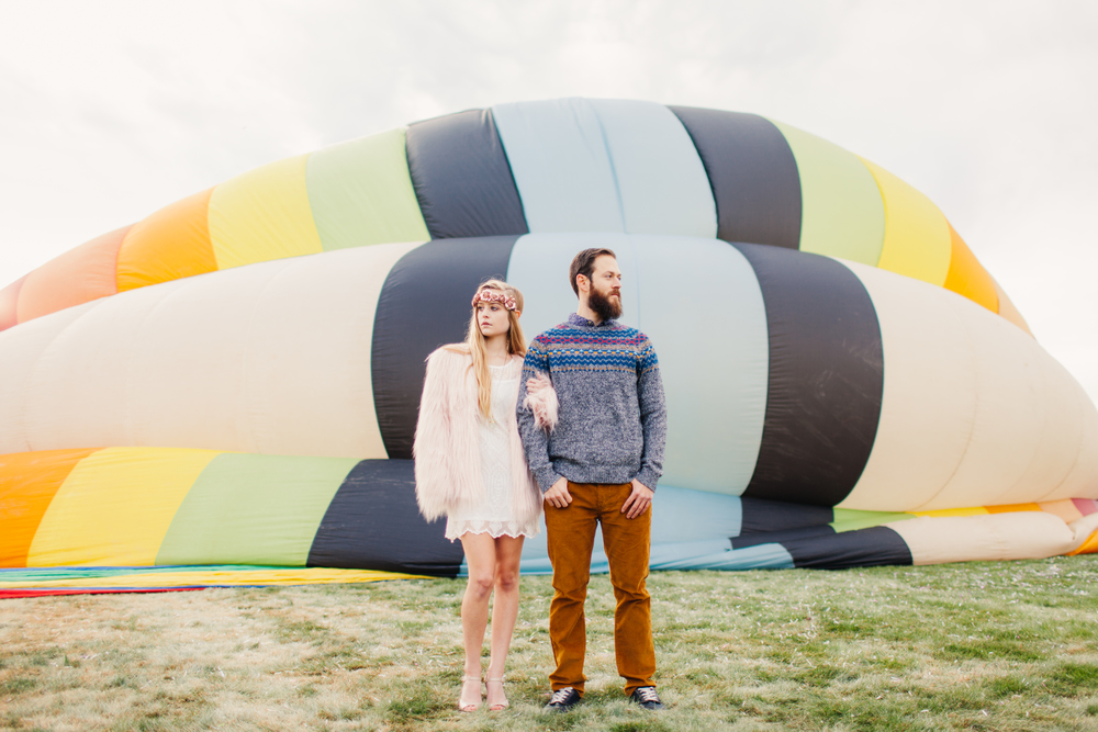 Albuquerque Hot Air Balloon Festival Lifestyle Photography by The Finches