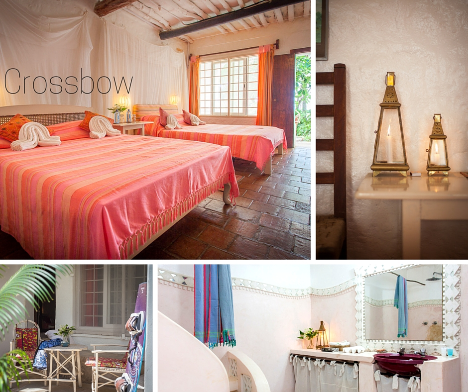CROSSBOW HAS TWO QUEEN BEDS - VIEW IMAGES - APPROX. $55 PER PERSON/ NIGHT B&B