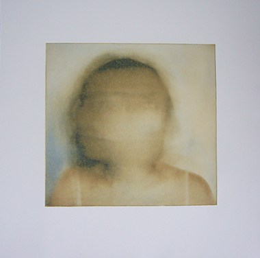 Turn , two-color photogravure, 13 x 13 in