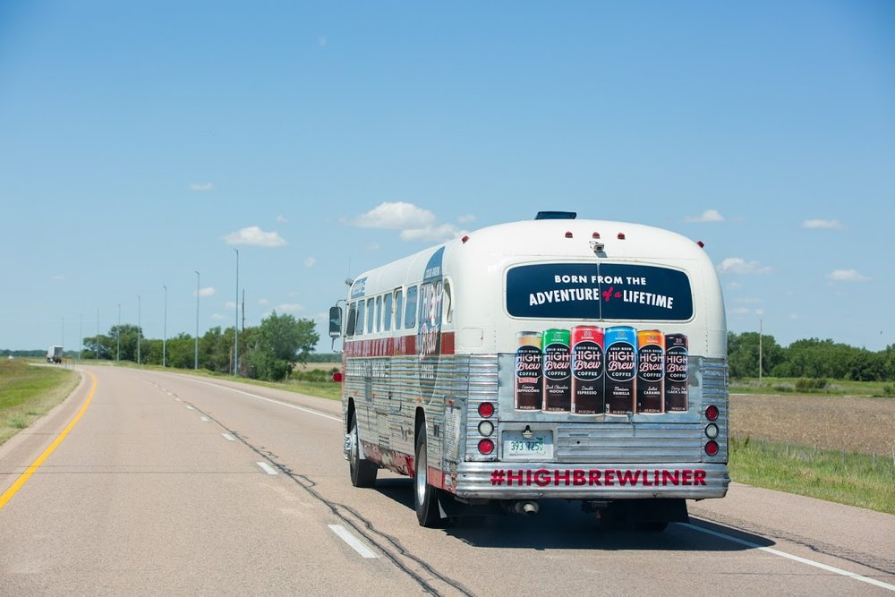 High Brew and OutCold brew up a neat summer road-trip experience - Chicago Business Journal