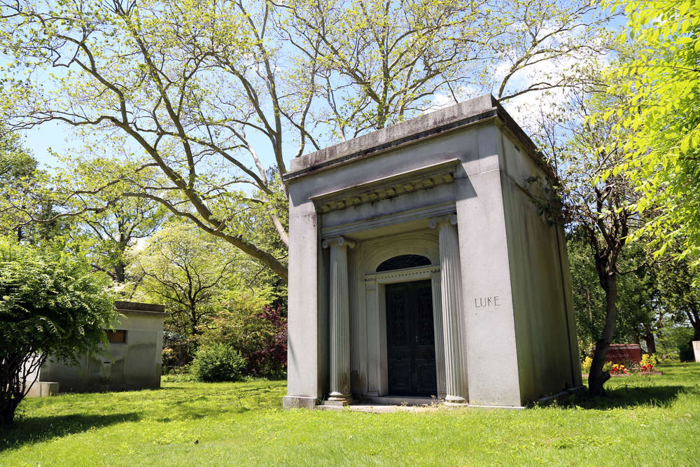 Unknown family. It was eerie though to find a tomb with my name on it.