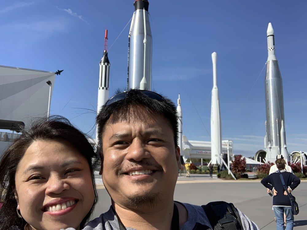 The rocket park.
