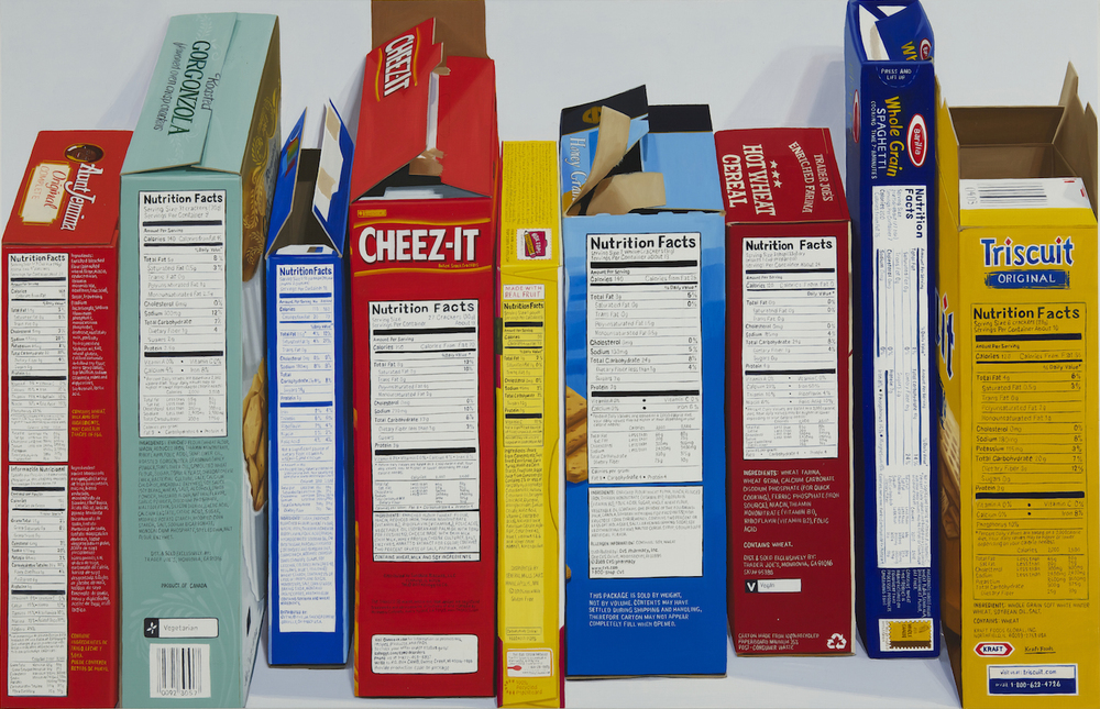Nutrition Facts Boxes