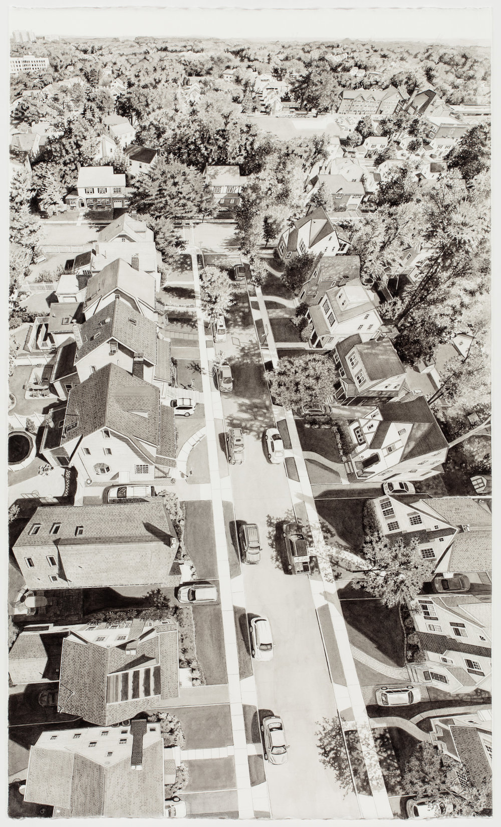 Drone 15 (View up Street)
