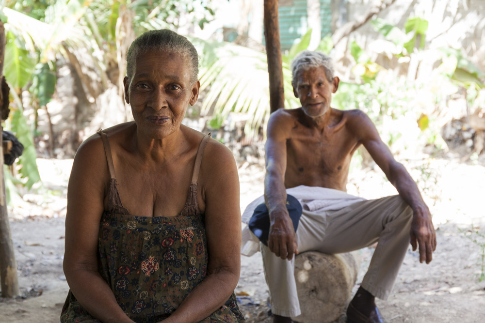 A couple I met while exploring one of the bateyes. COTN has helped them by building a house, providing them with basic living necessities, and sponsorship for their mentally disabled children.