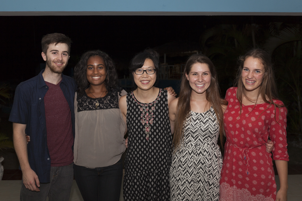 The awesome SPU team that we were able to spend a week with! Jack, Cierra, Candice, Sara, and Noami.
