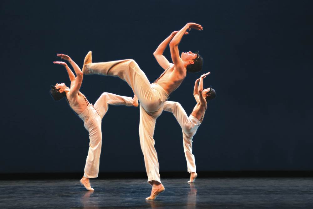 "NBS students perform ""That's What's the Matter"" from John Neumeier's  Yondering  in 2008 ."