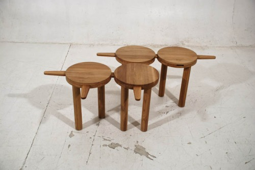annelennard :     'Pinocchio' stool by  onetwo .