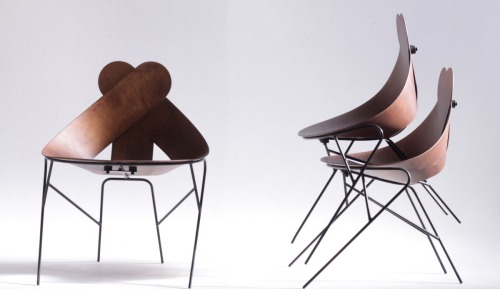 annelennard :     'Lucky Love Chair' by  Maarten Baptist .