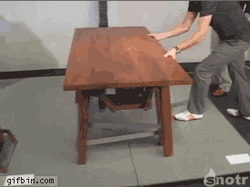 Walking Table … Click Source URL to see Moving GIF: