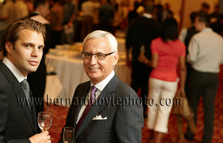 Maisons Marques & Domaines executives enjoying industry event with their guests.      ©2011   www.bernarddoylephoto.com