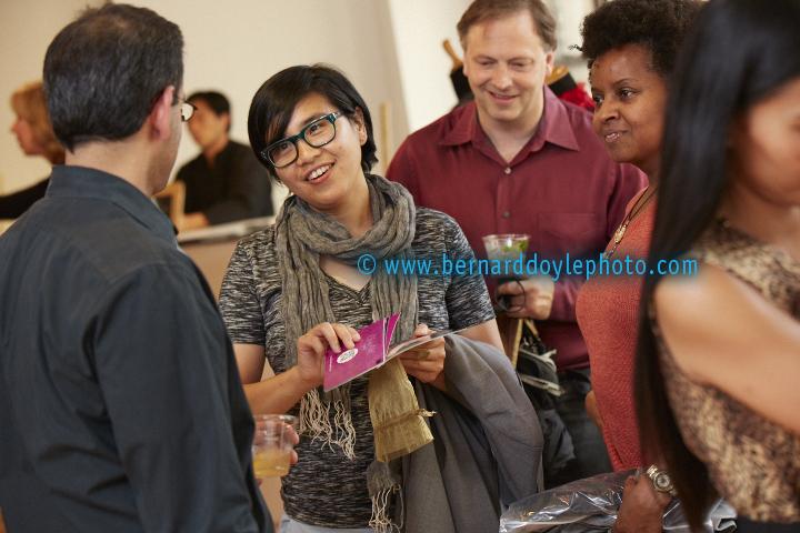 Industry and press enjoying Claudia Patel's Trunk Show NYC     ©2011  www.bernarddoylephoto.com